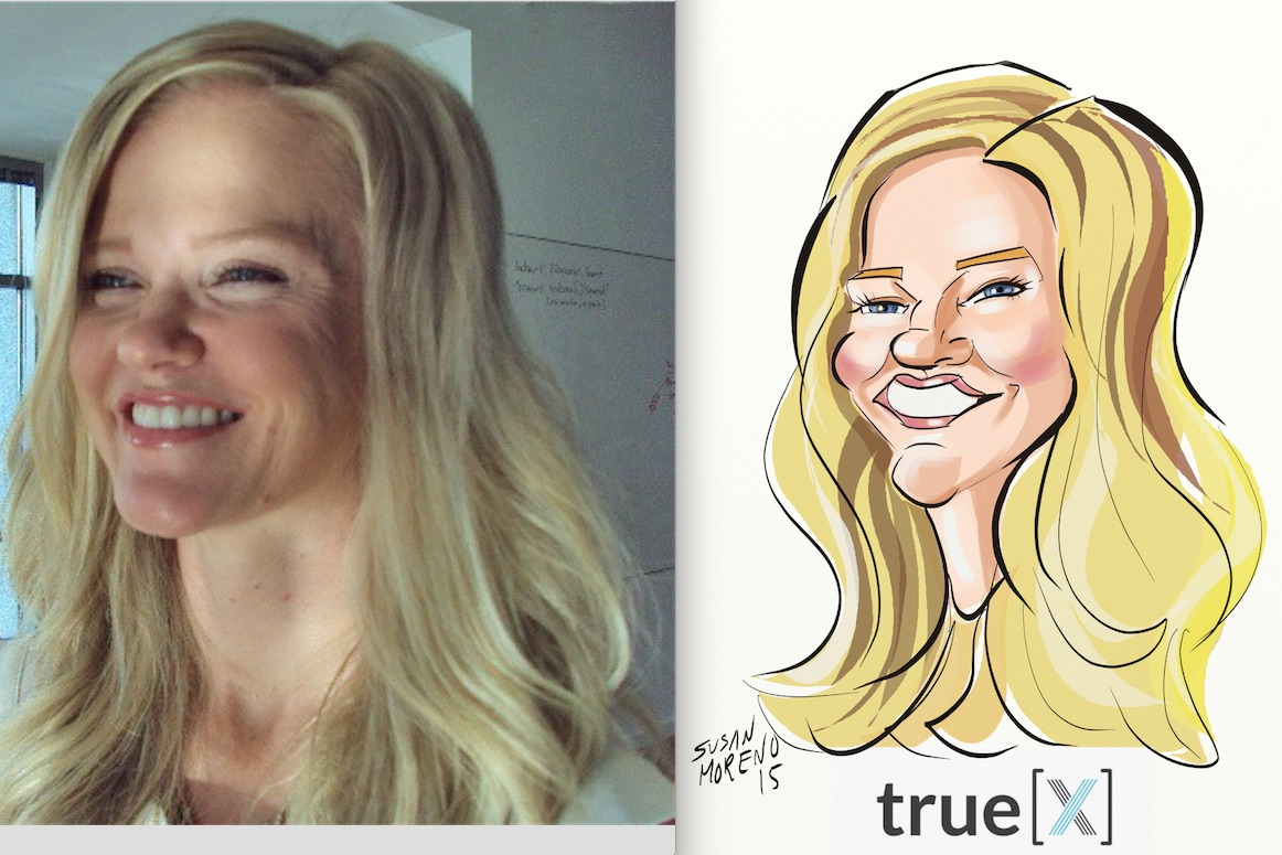 digital caricature kristen
