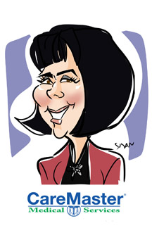 susan more caricatures digital atlanta caremaster conference #1