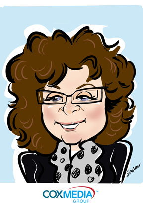 susan moreno caricature digital atlanta graduation wedding entertainment