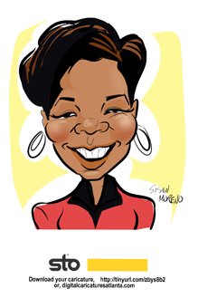 susan moreno caricatures digital atlanta meeting