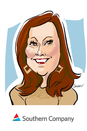 susan moreno caricatures digital atlanta meeting southern company