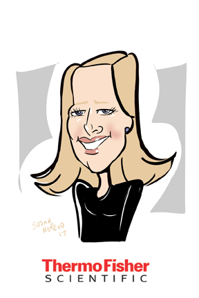 susan moreno caricatures digital atlanta thermo fisher meeting