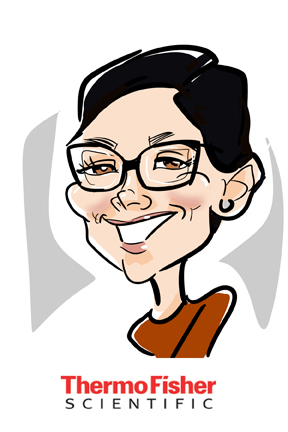 susan moreno caricatures digital atlanta thermo fisher